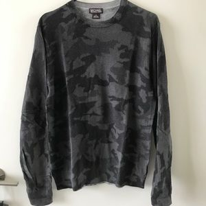 Michael Kors Camo Lightweight sweater